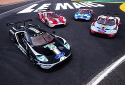 Libreas históricas en los Ford GT, el adiós de Ford a Le Mans