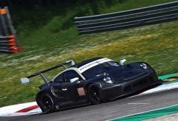 El nuevo Porsche 911 RSR GTE 'cazado' de test en Monza