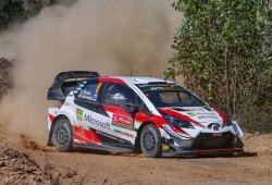 Ott Tänak lidera el triplete de Toyota en el Rally de Portugal