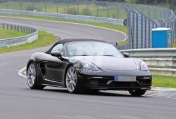 Las nuevas versiones Porsche 718 Touring Package ruedan en Nürburgring