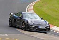 El Porsche 718 Cayman GT4 vuelve a Nürburgring a completar su desarrollo