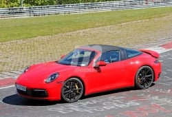 El nuevo Porsche 911 Carrera S Targa (992) se deja ver sin camuflaje