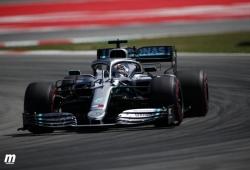 "Mercedes se encuentra con un W10 ""totalmente diferente"" al de pretemporada"