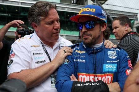 """Brown: """"McLaren quiere volver a la Indy 500 y ganar con Alonso"""""""
