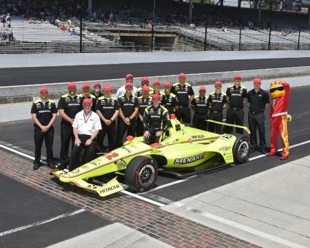 Pagenaud impide el triplete de Ed Carpenter Racing y se lleva la pole de Indianápolis