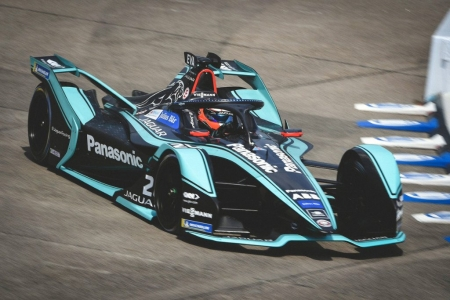 Evans y Lotterer mandan en los libres del ePrix de Berlín