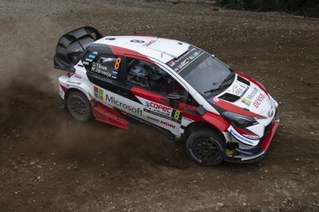 Ott Tänak se mide a su difícil pasado en el Rally de Portugal