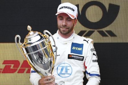 Philipp Eng brilla en Zolder y se coloca líder del DTM