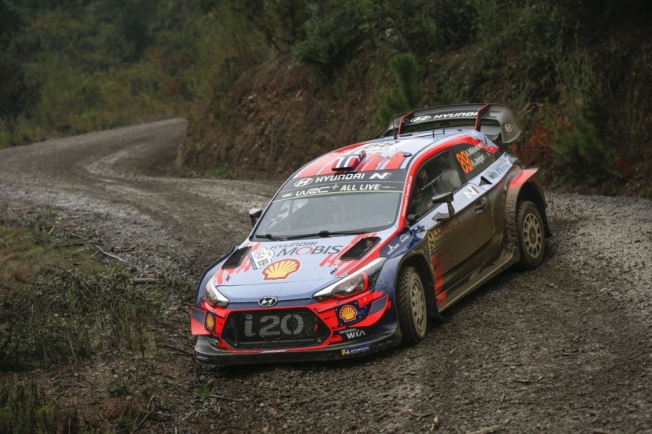 Andreas Mikkelsen lidera el shakedown del Rally de Chile