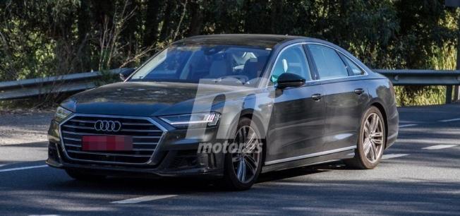 Audi S8 2020 - foto espía