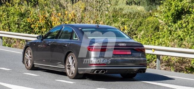 Audi S8 2020 - foto espía posterior