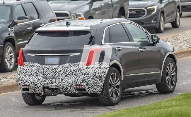 Cadillac XT5 2020 - foto espía posterior