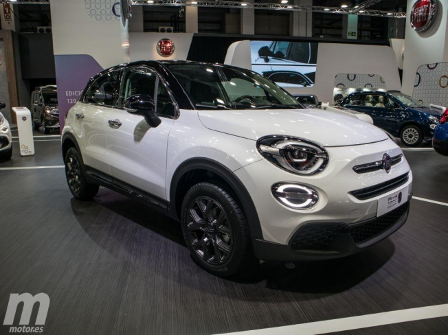 Fiat 500X en el Automobile Barcelona 2019