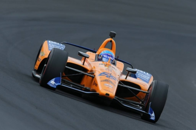Indy 500 Alonso Lidera La Sesion Previa A La Clasificacion Con