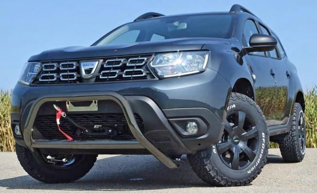 Dacia Duster preparado por Delta4x4