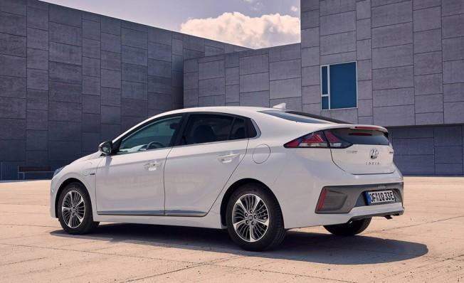Hyundai IONIQ Híbrido-enchufable - posterior