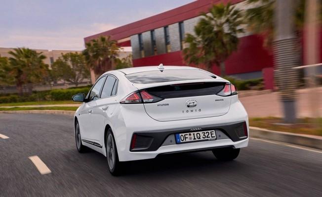 Hyundai IONIQ Eléctrico 2020 - posterior