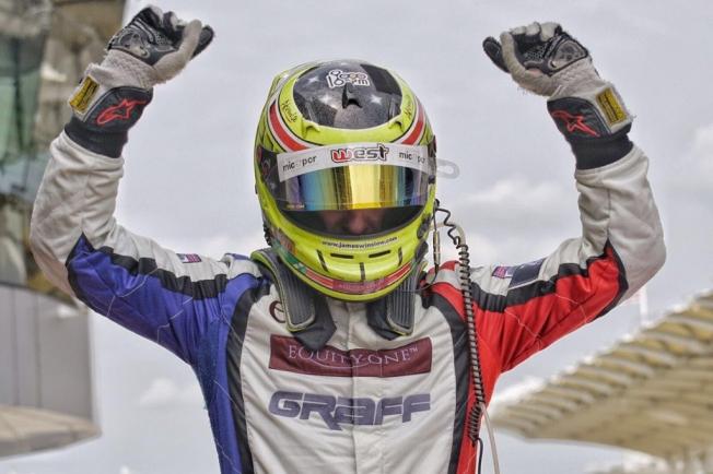 James Winslow, tercer piloto de Inter Europol en Le Mans