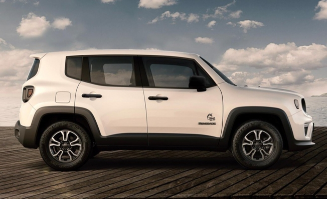 Jeep Renegade Change The Way - lateral