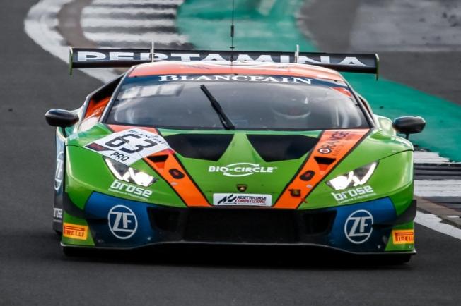 Pole para el Lamborghini #63 en un Monza empapado