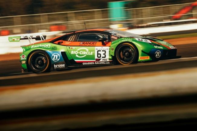 El Lamborghini #63 lidera la 'pre-Qualifying' de Silverstone