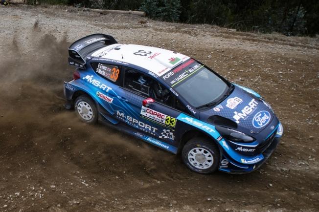 M-Sport competirá con tres Ford Fiesta WRC en Portugal
