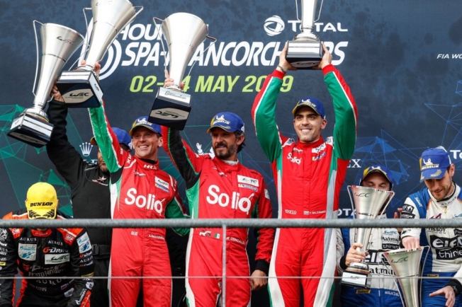 Maldonado, González y Davison dan el salto a Jota Sport