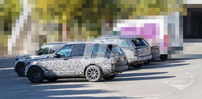 Range Rover 2021 - foto espía lateral