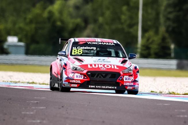 Catsburg se anota la primera pole del WTCR en Eslovaquia