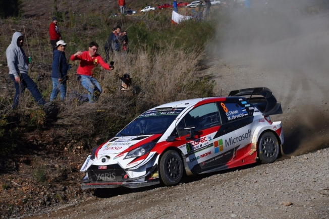 Ott Tänak recupera el pulso ganando el Rally de Chile