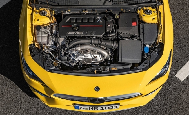 Mercedes-AMG CLA 35 4MATIC - motor