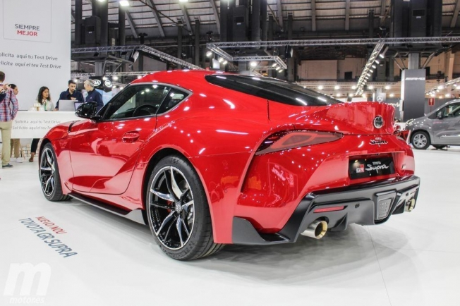 Toyota GR Supra - posterior