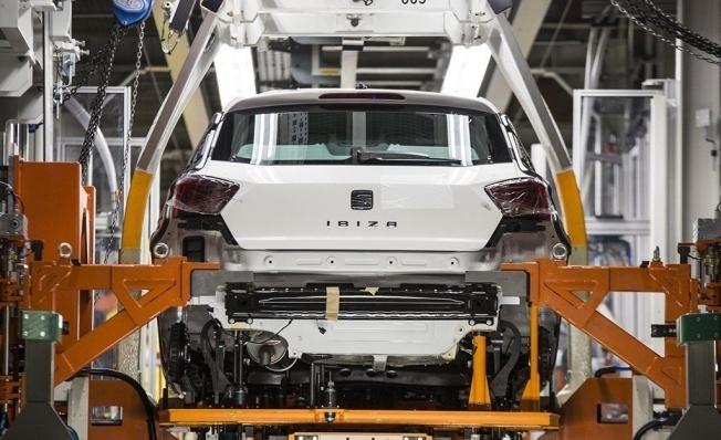 Producción de vehículos en España en abril de 2019