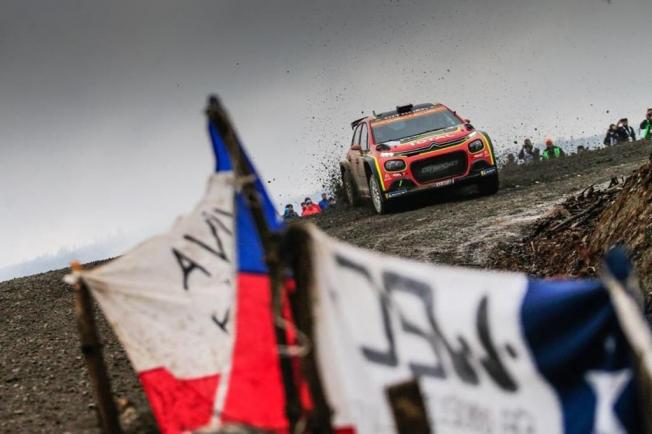 Tänak lidera el Rally de Chile, Ogier y Neuville le acechan