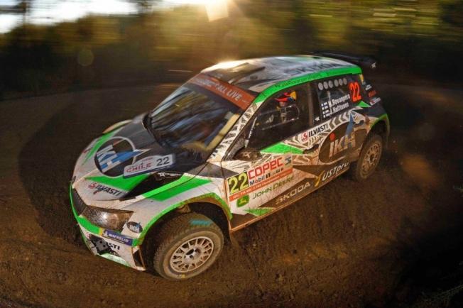 Tänak no frena, Ogier y Loeb dan picante al Rally de Chile