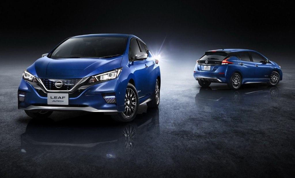 El nuevo Nissan Leaf ya tiene versión Autech en Japón