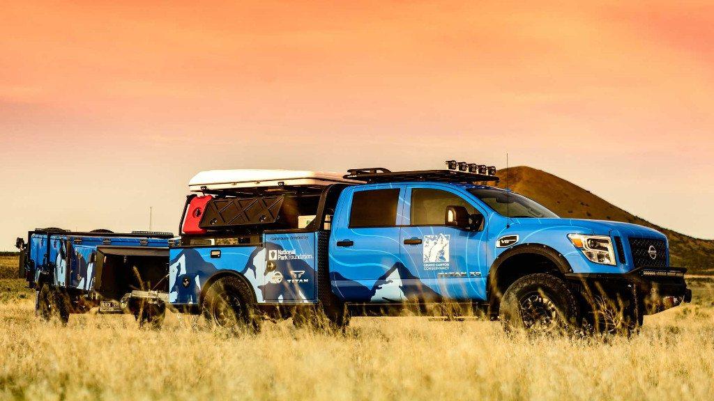 El nuevo Nissan Ultimate Parks Titan está destinado al Gran Cañón