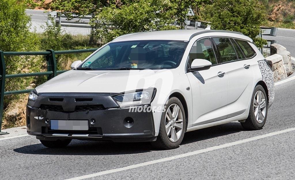 El nuevo Opel Insignia Sports Tourer 2020 se deja ver por el sur de Europa