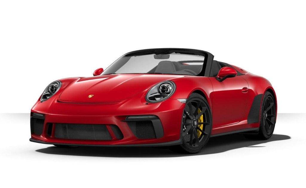El nuevo Porsche 911 Speedster ya cuenta con configurador online