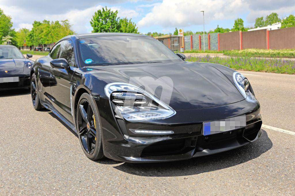 Los nuevos prototipos del Porsche Taycan con todo detalle en esta megagalería