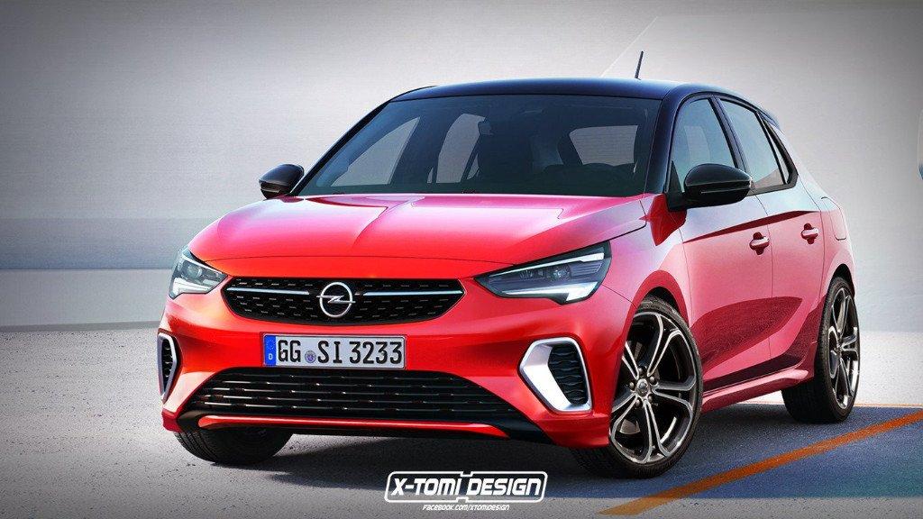 Los nuevos Opel Corsa GSi y Corsa OPC toman forma en estos renders