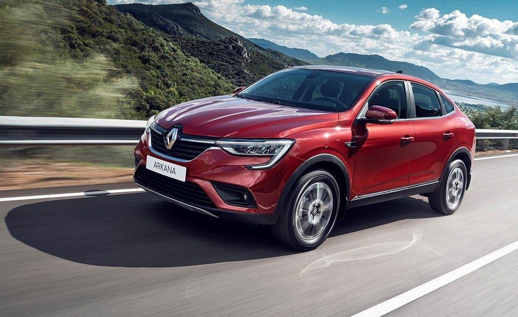 Renault Arkana, la versión de producción del nuevo SUV para Rusia entra en escena