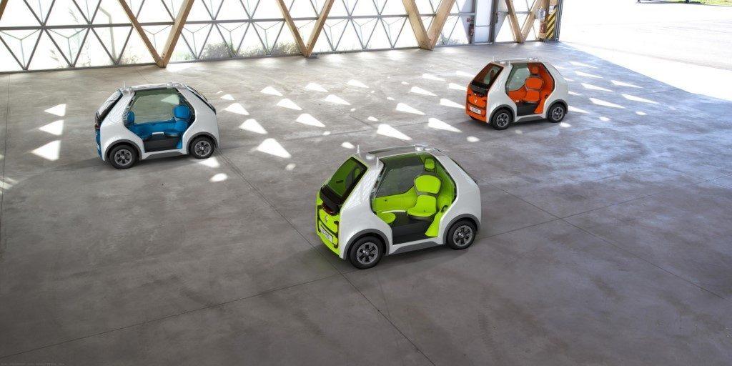 Renault explora la movilidad compartida con el nuevo concepto EZ-POD