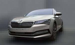El nuevo Skoda Superb facelift filtrado de nuevo desde China