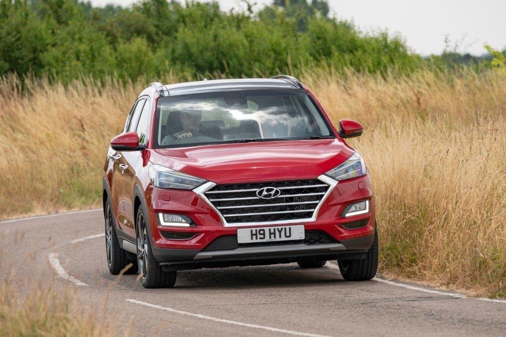 Reino Unido - Abril 2019: El Hyundai Tucson llega al Top 10 por primera vez