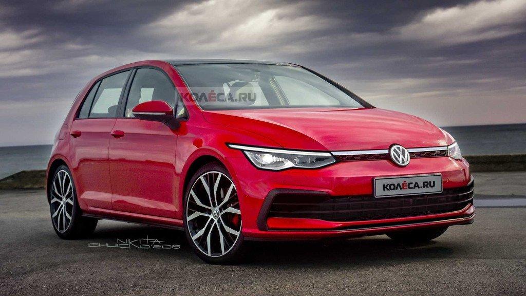 El nuevo Volkswagen Golf nos muestra su aspecto definitivo en estos renders