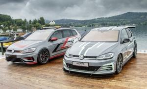 Volkswagen presenta 2 prototipos del Golf con 400 CV en Wörthersee