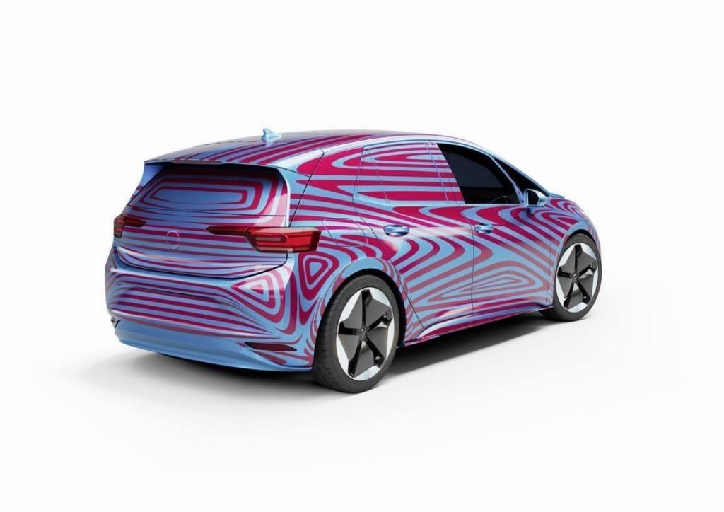 Volkswagen presentará el nuevo ID.2 como un concepto en el Salón de Frankfurt 2019