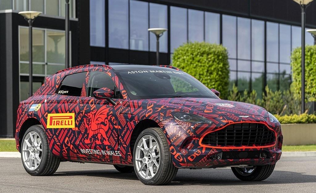 La pre-producción del nuevo Aston Martin DBX está en marcha