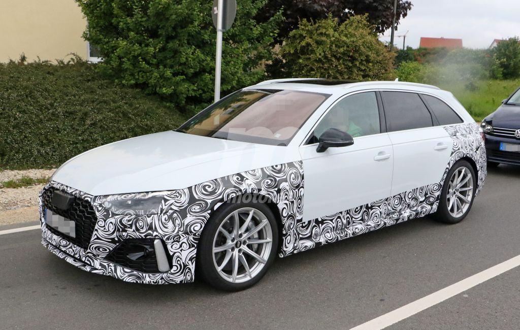 El nuevo Audi RS4 Avant 2020 nos muestra sus primeros rasgos